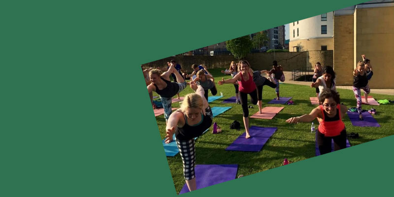 Yoga in the Gardens with Yoga Hero: adults