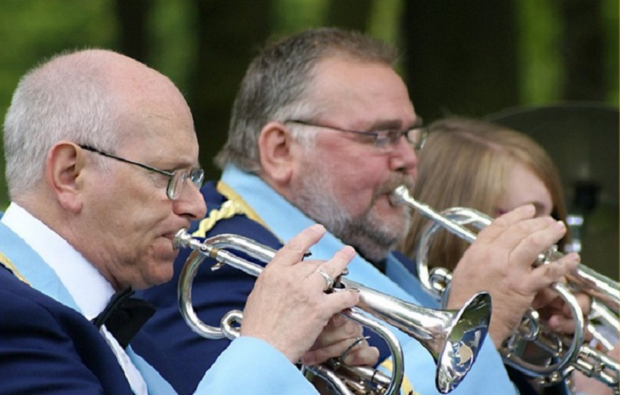 Grange Moor Brass Band – New Farnley Park