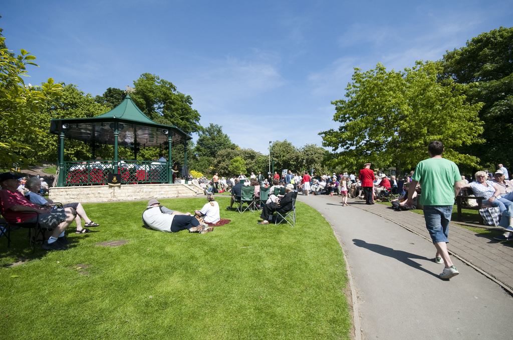 Yorkshire Imperial Brass Band – Wetherby Riverside Bandstand