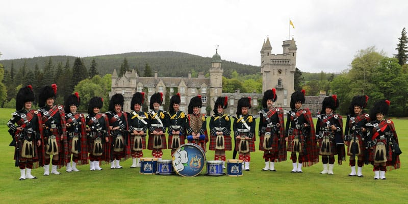 Lotherton Armed Forces day with Leeds Pipe Band