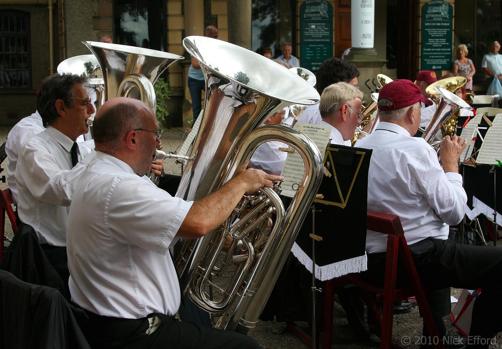 Old Silkstone Brass Band – Golden Acre Park