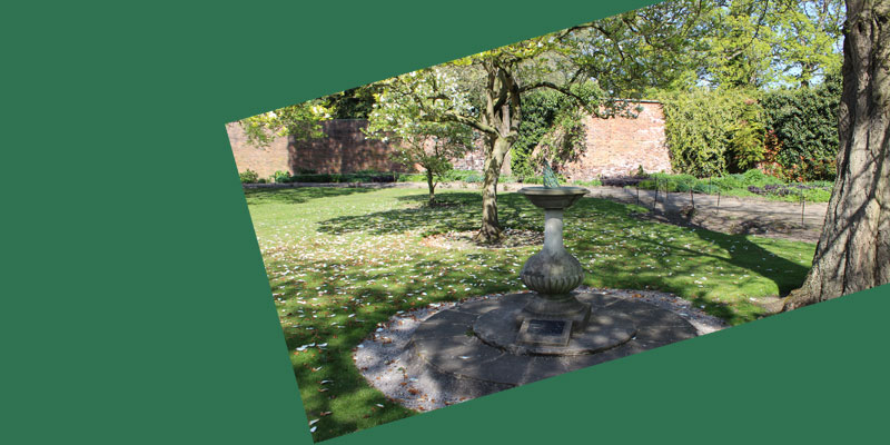 Mindfulness in Lotherton Gardens