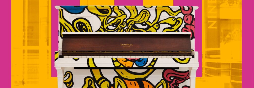 Leeds Piano Trail | Art, Sculptures & Special Performances