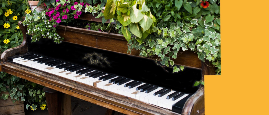 Leeds Piano Trail | Come Along and Plant
